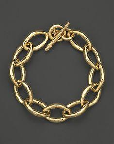Ippolita 18K Gold Glamazon Mini Bastille Link Bracelet | Bloomingdale's