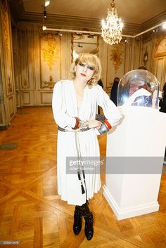 Catherine Baba attends the 'Memphis' Fine jewelry collection launch as part of Paris Fashion Week at Mona Bismarck American Center on January 26, 2016 in Paris, France.