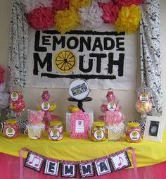 I want a Lemonade Mouth party!!!!!