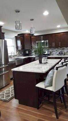 Stunning 80 Beautiful Gray Kitchen Cabinet Ideas https://crowdecor.com/80-beautiful-gray-kitchen-cabinet-ideas/