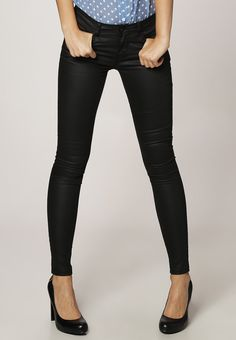 Jean slim enduit - black - Only