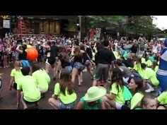 Flash Mob at Spokane Hoopfest!