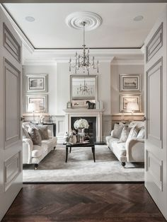 James D Arcy White Living Rooms Living Spaces Formal Living Rooms Living Room Designs White Rooms Classic Living Room Living Room Ideas