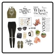 """Başlıksız #7"" by sudetopgul on Polyvore featuring moda, New Look, Topshop, Havaianas, Sonix, Yves Saint Laurent, Lulu*s, Bobbi Brown Cosmetics ve Allstate Floral"