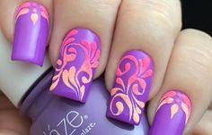 Diseños de uñas a la moda actual, diseños de uñas a la moda.   #uñasbonitas #unhas #uñasfinas
