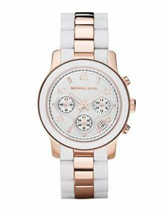 Best Buy Michael Kors Womens MK5464 Runway White Watch at http://get.nazuka.net/review/product.php?asin=B005584DS2