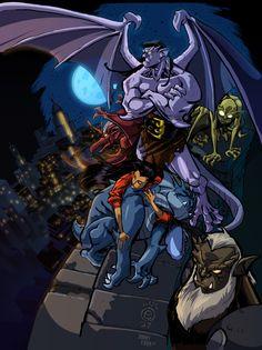 200 Disney Gargoyles Ideas Gargoyles Gargoyles Disney Disney