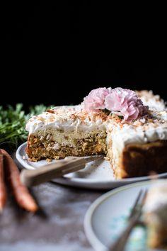 Coconut Carrot Cake Cheesecake