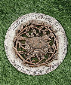 Another great find on #zulily! Bird Stepping Stone #zulilyfinds