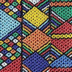 African Beadwork 2 Photograph - African Beadwork 2 Fine Art Print