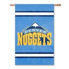 Denver Nuggets 2-Sided Banner, Multicolor