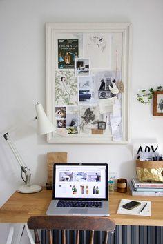 Mood boards: Tidy Desk Tidy Mind by Jeska Hearne