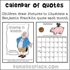 new year craft and learning activity new years 2015 calendar of wise quotes from www