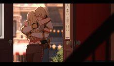 """You stupid brother for worrying your family like that…I've missed you, Jaune…"" Rwby Anime, Dc Anime, Rwby Fanart, Anime Comics, Anime Manga, Anime Guys, Anime Art, Rwby Volume 1, Neon Katt"