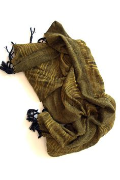 Ghazal hand woven cotton scarf – Amber Kane