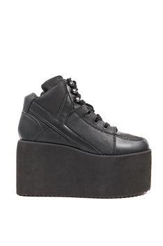 1739dada760e Qozmo High Platform Sneaker in White   Y.R.U. Shoes   ShopAKIRA.com