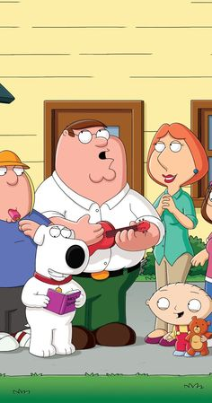 Family Guy (TV Series 1999– ) In a wacky Rhode Island town, a dysfunctional family strive to cope with everyday life as they are thrown from one crazy scenario to another.
