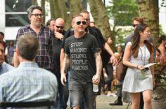 Corey Taylor book event at Bryant Park NY 8 Jul 2015