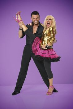 Dancing With the Stars 2014 Season 19 Pairs - Betsey Johnson and Tony Dovolani