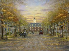 Colonial Williamsburgh – VA by Robert Finale