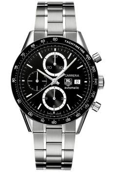 Dad's Tag Heuer Carrera Automatic Chronograph Watch