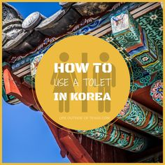 Don't get caught with your pants down... here's everything you need to know about how to use a toilet in Korea. LifeOutsideofTexas.com