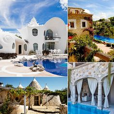 Amazing airbnb locales. The website calls it for weddings, but frak, vacations!!