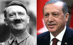 In a world first, President Recep Tayyip Erdogan uses Hitler's Germany as a   positive role model for his constitutional reforms