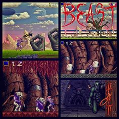 Shadow of the Beast - Vote for it: - Aarbron seeks revenge on Maletoth. A long arduous journey ensues with Aarbron forced to battle his way through both hostile terrain and Maletoth's forces. Shadow Of The Beast, History Of Video Games, Turbografx 16, Super Mario Land, Sega Mega Drive, Game Title, Hits Movie, Childhood Days, First Game