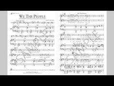 We The People - MusicK8.com Singles Reproducible Kit - YouTube