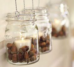Got acorns? I've been consumed with what I can do to decorate for fall, yet stay on a budget. These acorn crafts will help me do just that! decoration mason jars 10 Awesome Acorn Crafts - Fall Decorating on a Budget Acorn Crafts, Fall Crafts, Diy Crafts, Budget Crafts, Crafts With Acorns, Summer Crafts, Easter Crafts, Handmade Crafts, Holiday Crafts