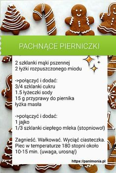 Przepisy Eye Makeup eye makeup using urban decay 3 Baking Recipes, Cake Recipes, Dessert Recipes, Christmas Dishes, Christmas Cookies, Polish Recipes, Diy Food, No Bake Cake, Love Food