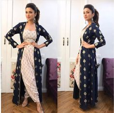 Indian Dresses 2018 for Party & Formal Outfits for Girls Fashion - The subcontinent is known for its rich culture and traditions. Shrug For Dresses, Indian Gowns Dresses, Indian Fashion Dresses, Dress Indian Style, Indian Designer Outfits, Pakistani Dresses, Designer Dresses, Dress Up, Indian Fashion Trends