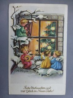 AK Weihnachten, Engel, Hoyos, gel. - EUR 4,75 | PicClick DE