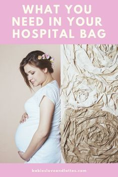 deffe957fb91c What To Pack For Mom's Labor & Delivery Hospital Bag. Babies ...