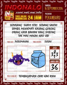 Wangsit Togel Wap Online Live Draw 4D Indonalo Pekanbaru 16 September 2016