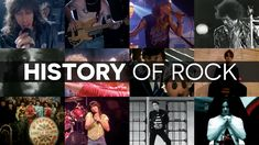 A história do Rock...contada no Facebook! Incrível!