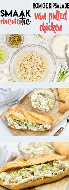 Chicken Lunch Recipes, Pulled Chicken Sandwiches, Star Food, Eat Lunch, Cooking Recipes, Healthy Recipes, Happy Foods, Comfort Food, I Love Food