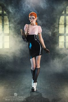 silent-tight-and-still: Dead Lotus Couture Librarian by Elisanth