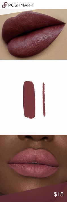 Kylie Jenner Poison Berry lip kit Poison Berry is a deep dusty mauve.  Each Lip Kit contains:   1 Velvet Liquid Lipstick (0.11 fl oz./oz. liq / 3.00 ml) 1 Pencil Lip Liner (net wt./ poids net  .03 oz/ 1.0g) The #KylieCosmetics Lip Kit is your secret weapon to create the perfect 'Kylie Lip.' Each Lip Kit comes with a Velvet Liquid Lipstick and matching Lip Liner.  Lip Liner This ultra-long wearing Lip Liner has a creamy texture that glides across the lips for a very easy and comfortable…