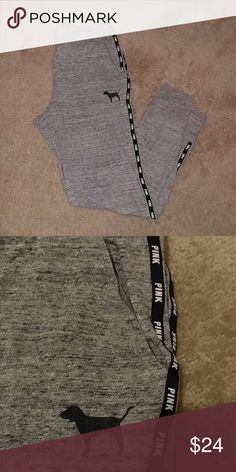 Victoria's secret PINK sweats size small Repost because I didn't like the way they fit size small missing drawstring PINK Victoria's Secret Pants Track Pants & Joggers