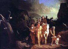 """""""Daniel Boone and the Opening of the American West"""" – Witnessing History, LLC May 29 @ 7:00 pm - 9:15 pm The first full-length film production on the life of Daniel Boone ever produced for television, Daniel Boone traces the life of the famed frontiersman from his birth near Reading, Pennsylvania in 1734, through his years in Kentucky and to his death in St. Charles County, Missouri in 1820."""