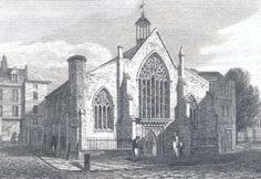 The Dutch Church in 1815 London The wars of religion led to one influx of French refugees to England; but earlier than this, Protestants (both Dutch- and French-speaking) from the Low Countries were heading across the Channel and the North Sea to escape increasing persecution by their Spanish Habsburg rulers. In 1550 Edward VI gave them the church of the Austin Friars (a community dissolved in 1538), which remains the Dutch Church to this day