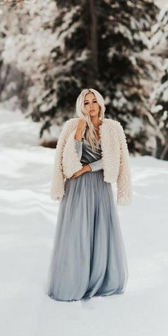 Winter Wedding Guest Dresses: 18 Best Looks ★ #bridalgown #weddingdress