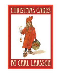Christmas Cards by Carl Larsson