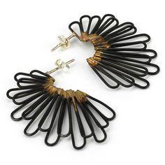 hoop earrings . LEIA ZUMBRO