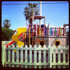 Captain Palace for little kids.. Play ground