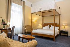 Room at the Falkensteiner Hotel Grand MedSpa Marienbad, Czech Republic Medical Spa, Spa Treatments, Hotel Spa, Czech Republic, Modern, Bed, Room, Furniture, Home Decor