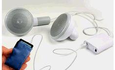 500XL Earbud Desktop Speakers - Earphones but much bigger