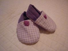 These are shoes I sewed for my baby girl.  I used a free pattern on etsy.